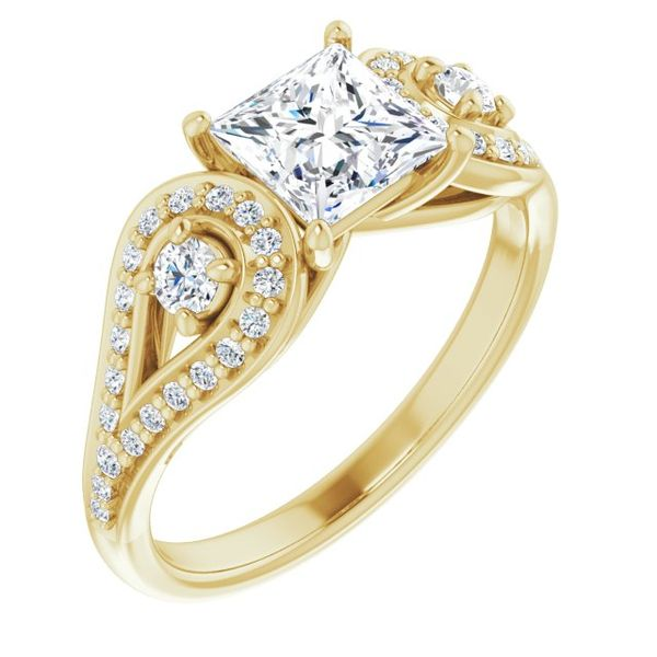 Vintage,Inspired Engagement Ring