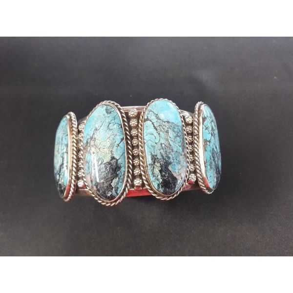 Stormy Mountain Turquoise Bracelet Adair Jewelers  Missoula, MT