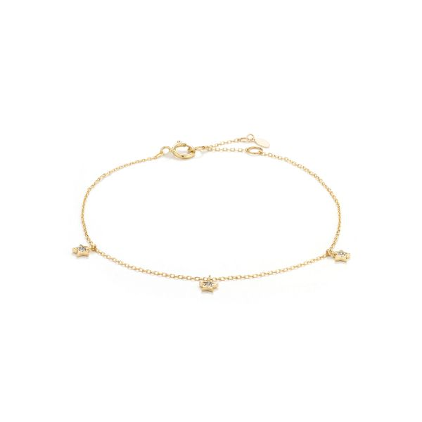 LYRA | Triple Diamond Star Bracelet Barron's Fine Jewelry Snellville, GA