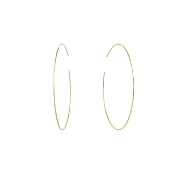 DONNA | Large Seamless Hoops Barron's Fine Jewelry Snellville, GA