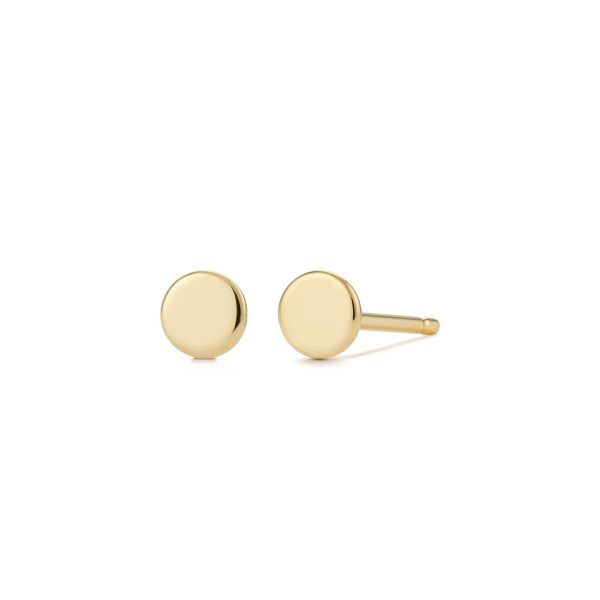 DOT | Disc Stud Earrings Barron's Fine Jewelry Snellville, GA