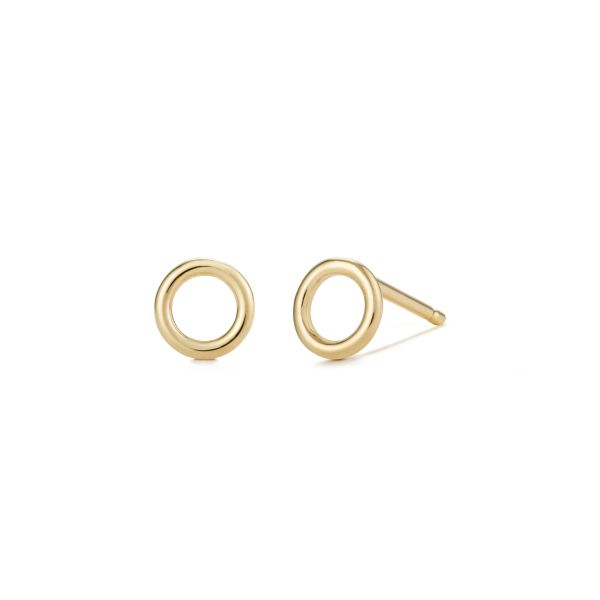 HALO | Open Circle Studs Barron's Fine Jewelry Snellville, GA