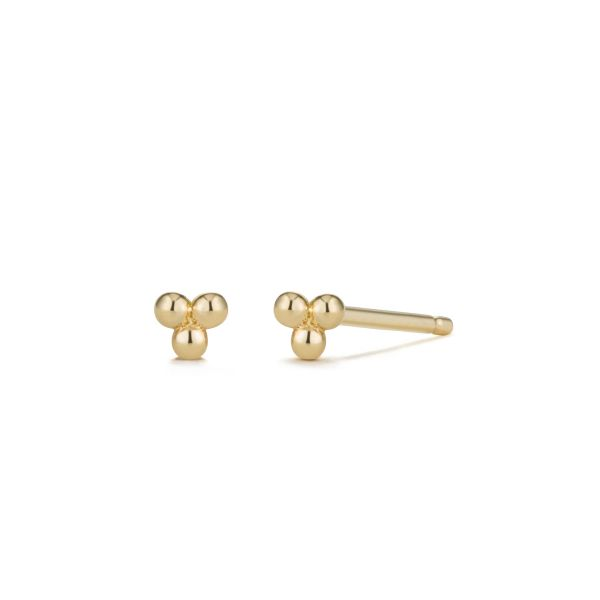 ADDIE | Small Trio Dots Studs Barron's Fine Jewelry Snellville, GA