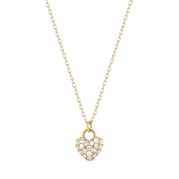 BELLA | Diamond Heart Pendant Barron's Fine Jewelry Snellville, GA