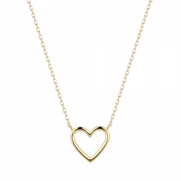 JANE | Open Heart Necklace Barron's Fine Jewelry Snellville, GA