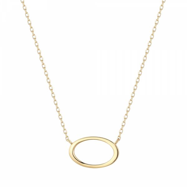IRENE | Open Oval Necklace Barron's Fine Jewelry Snellville, GA
