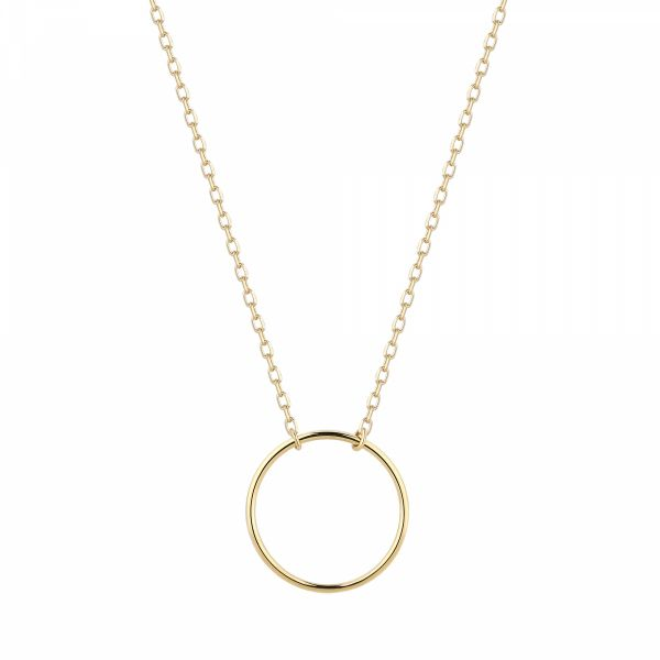 ADA | Open Circle Necklace Barron's Fine Jewelry Snellville, GA