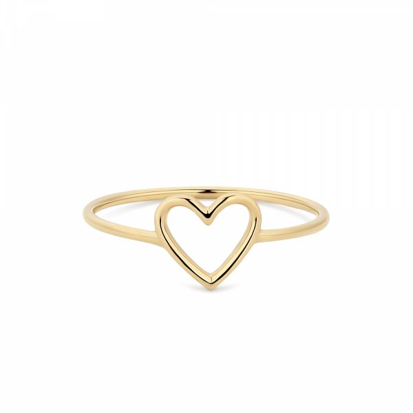 JANE | Open Heart Ring Barron's Fine Jewelry Snellville, GA