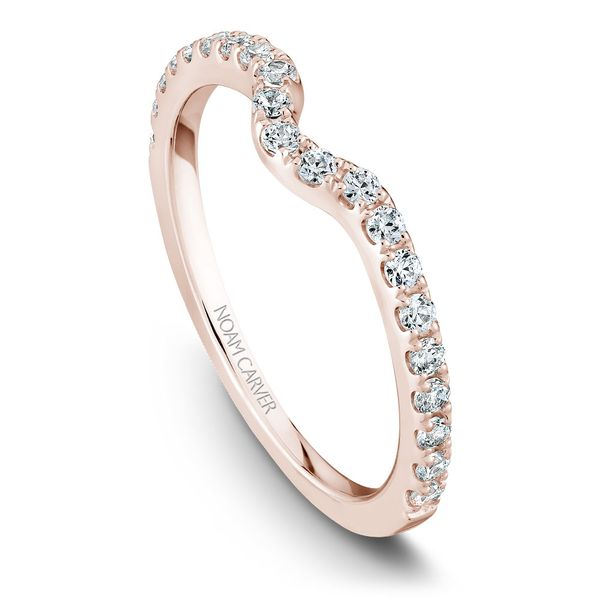 Rose Gold Engagement Ring With 44 Diamonds. Image 5 Barron's Fine Jewelry Snellville, GA