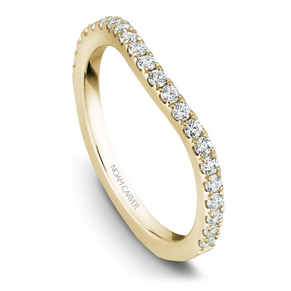 Yellow Gold Engagement Ring With 62 Diamonds. Image 5 Barron's Fine Jewelry Snellville, GA