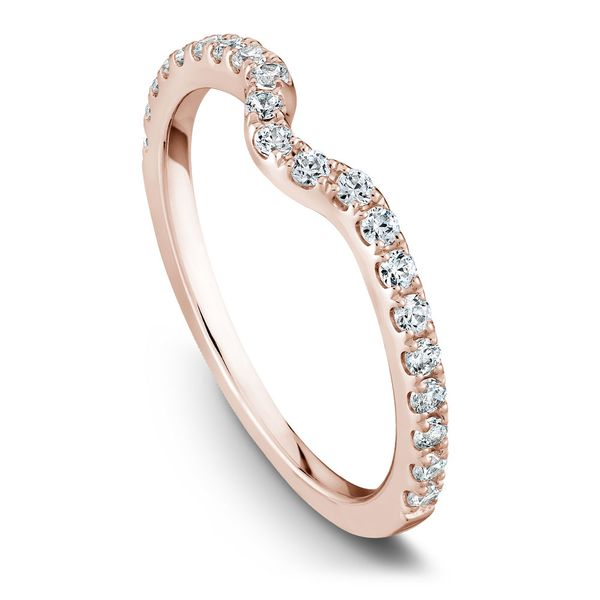Rose Gold Engagement Ring With 26 Diamonds. Image 5 Barron's Fine Jewelry Snellville, GA