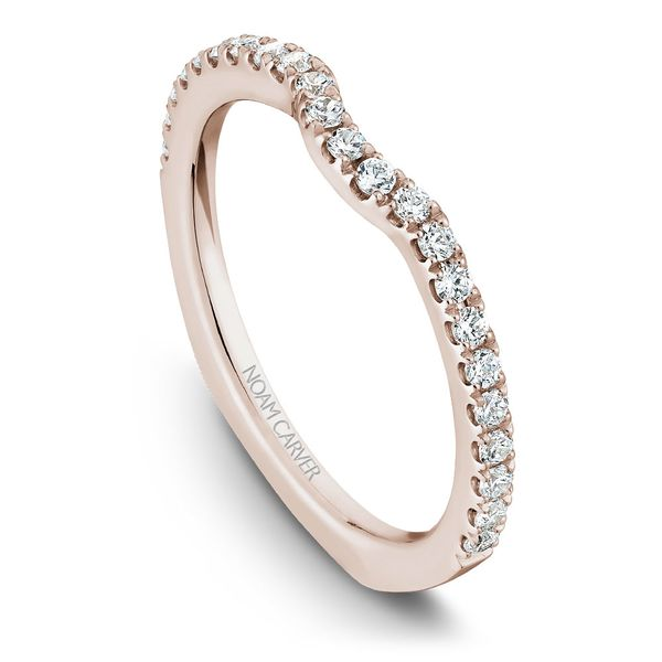 Rose Gold Engagement Ring With 52 Diamonds. Image 5 Barron's Fine Jewelry Snellville, GA