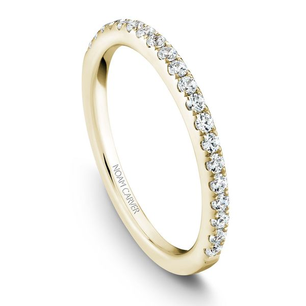 Yellow Gold Engagement Ring With 18 Diamonds. Image 5 Barron's Fine Jewelry Snellville, GA