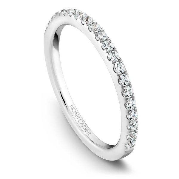 White Gold Engagement Ring With 26 Diamonds. Image 5 Barron's Fine Jewelry Snellville, GA