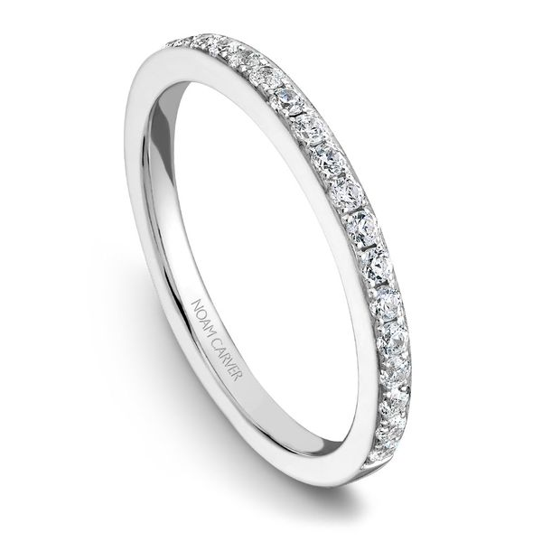 White Gold Engagement Ring With 42 Diamonds. Image 5 Barron's Fine Jewelry Snellville, GA