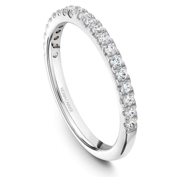 White Gold Engagement Ring With An Oval Centerpiece And 30 Diamonds. Image 5 Barron's Fine Jewelry Snellville, GA
