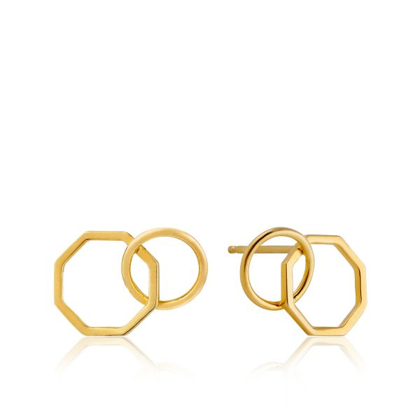 Two Shape Stud Earrings Barron's Fine Jewelry Snellville, GA