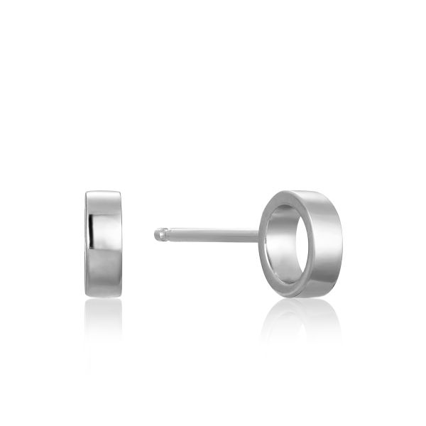 Open Circle Stud Earrings Barron's Fine Jewelry Snellville, GA