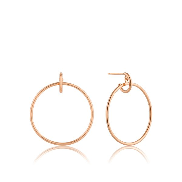 Front Hoop Earrings Barron's Fine Jewelry Snellville, GA