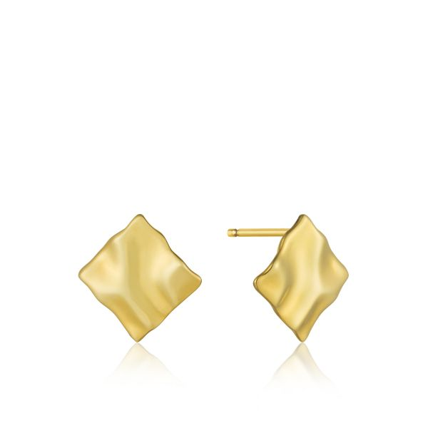 CRUSH MINI SQUARE STUD EARRINGS Barron's Fine Jewelry Snellville, GA
