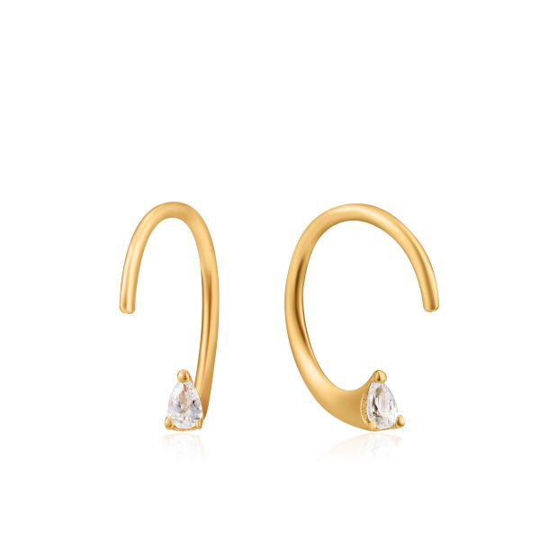 TWIST SPARKLE EARRINGS Barron's Fine Jewelry Snellville, GA