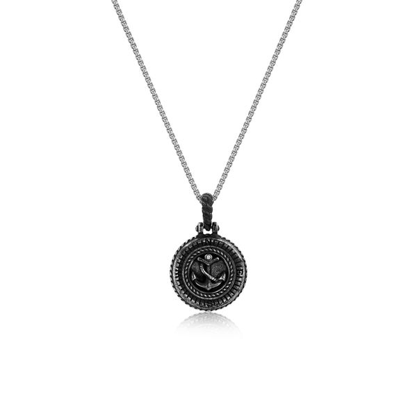 BALLAST |Rope and Anchor Disk Pendant Barron's Fine Jewelry Snellville, GA