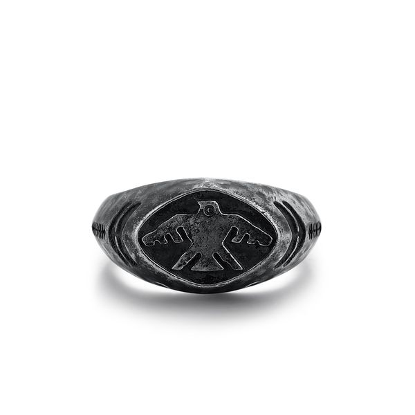 THUNDERBIRD| Ring with Eagle Design Barron's Fine Jewelry Snellville, GA