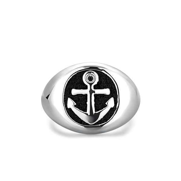 NAUTICAL | Anchor Signet Ring Barron's Fine Jewelry Snellville, GA