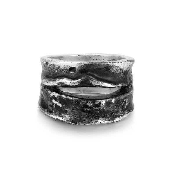 GORGE | Wide Textured Band Barron's Fine Jewelry Snellville, GA