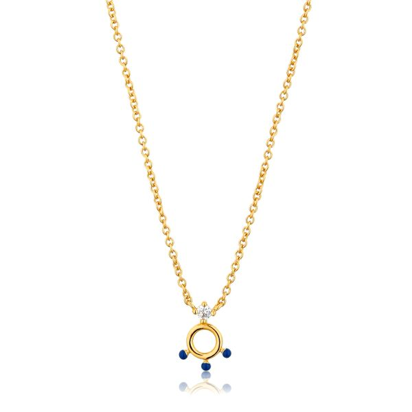 Dotted Circle Pendant Necklace Barron's Fine Jewelry Snellville, GA