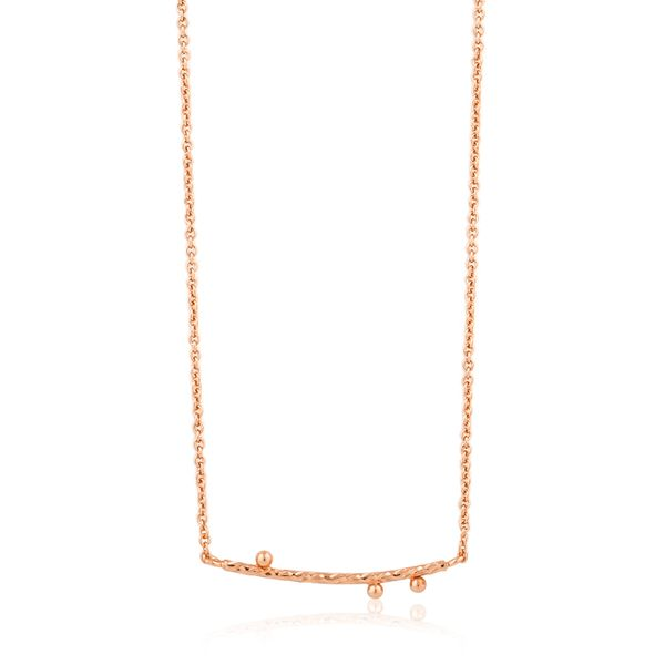 Texture Solid Bar Necklace Barron's Fine Jewelry Snellville, GA