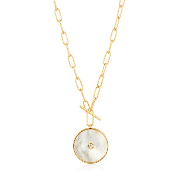 MOTHER OF PEARL T-BAR NECKLACE Barron's Fine Jewelry Snellville, GA