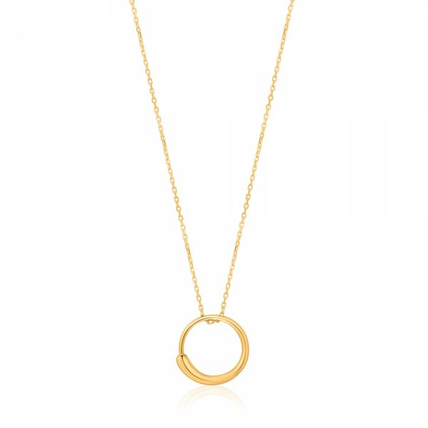 LUXE CIRCLE NECKLACE Barron's Fine Jewelry Snellville, GA