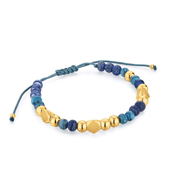 EDEN | Blue Murano Glass Beaded Bracelet Barron's Fine Jewelry Snellville, GA