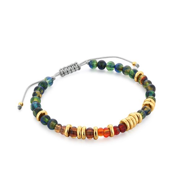 VENERATE | Multi-Colored Murano Glass Beaded Bracelet Barron's Fine Jewelry Snellville, GA