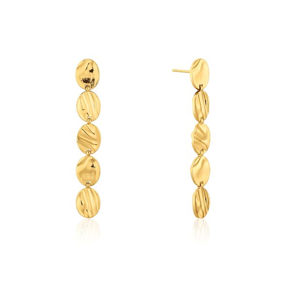 WINK | Textured Multi Disc Earrings Barron's Fine Jewelry Snellville, GA