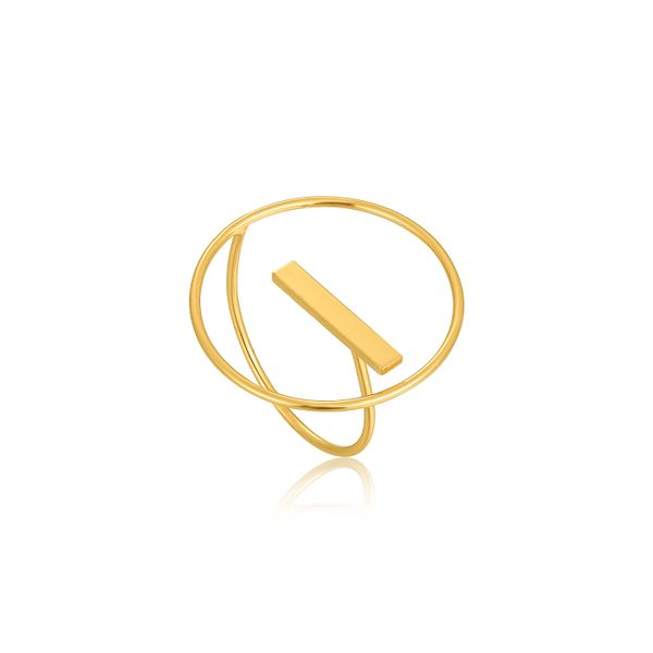 Modern Circle Adjustable Ring Barron's Fine Jewelry Snellville, GA