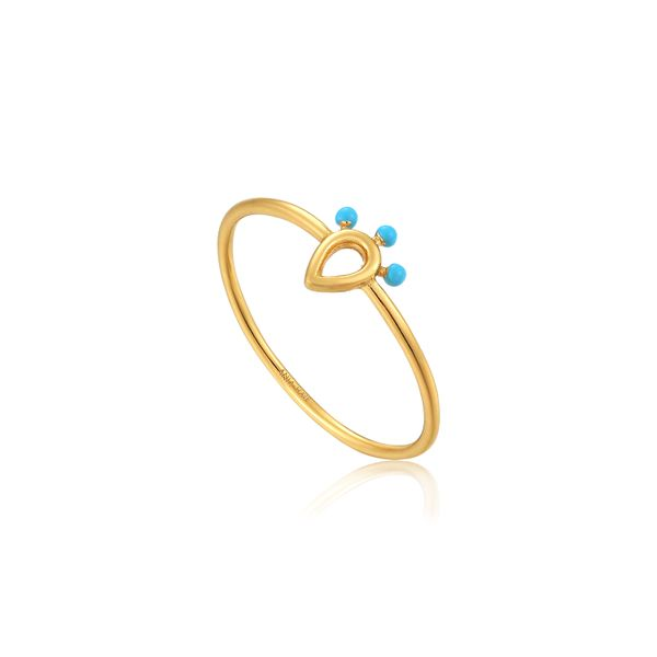 Dotted Raindrop Ring Barron's Fine Jewelry Snellville, GA