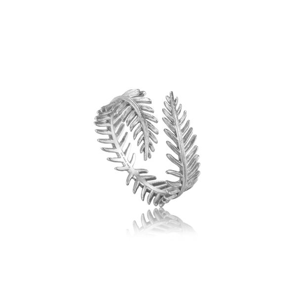 Palm Leaf Adjustable Ring Barron's Fine Jewelry Snellville, GA