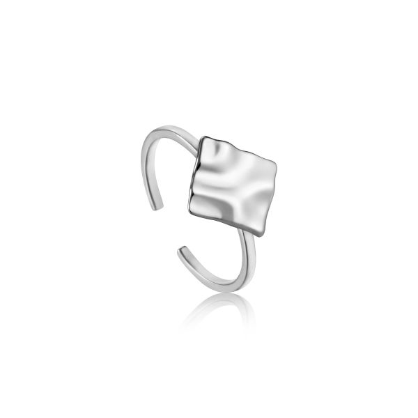 CRUSH SQUARE ADJUSTABLE RING Barron's Fine Jewelry Snellville, GA