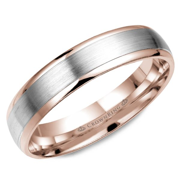 4mm 14KW M Wedding band Barron's Fine Jewelry Snellville, GA