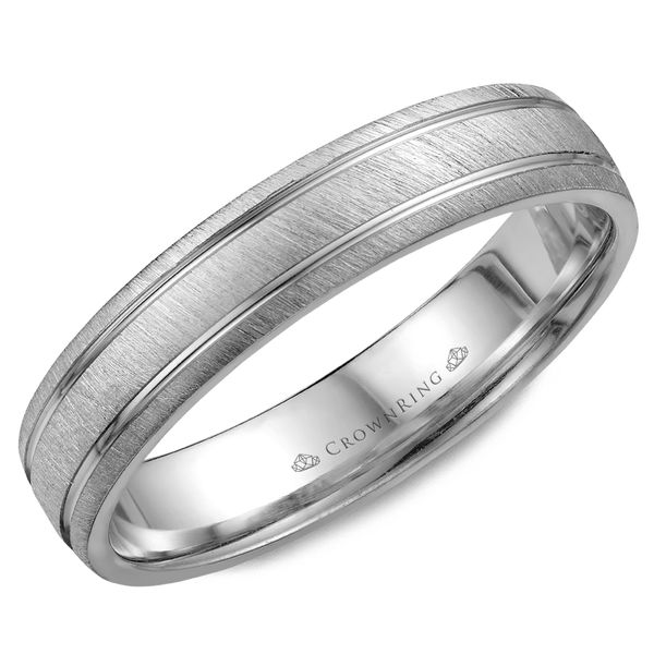 4.5mm 14KW M Wedding band Barron's Fine Jewelry Snellville, GA