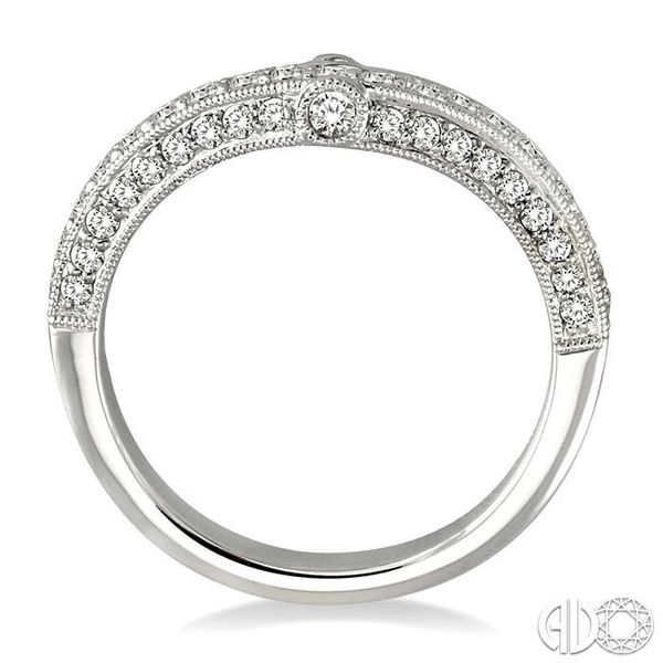 5/8 Ctw Diamond Matching Wedding Band in 14K White Gold Image 3 Becker's Jewelers Burlington, IA