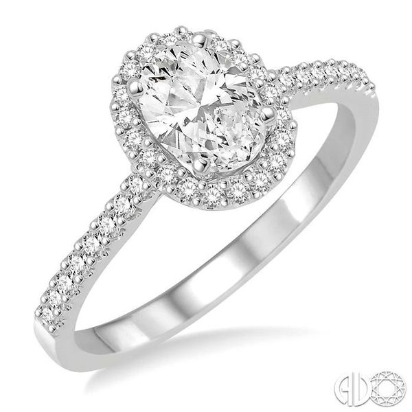 1/4 Ctw Round Cut Diamond Semi-Mount Engagement Ring in 14K White Gold Becker's Jewelers Burlington, IA
