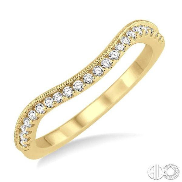 1/5 Ctw Round Cut Diamond Wedding Band in 14K Yellow Gold Becker's Jewelers Burlington, IA
