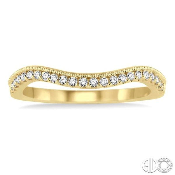 1/5 Ctw Round Cut Diamond Wedding Band in 14K Yellow Gold Image 2 Becker's Jewelers Burlington, IA