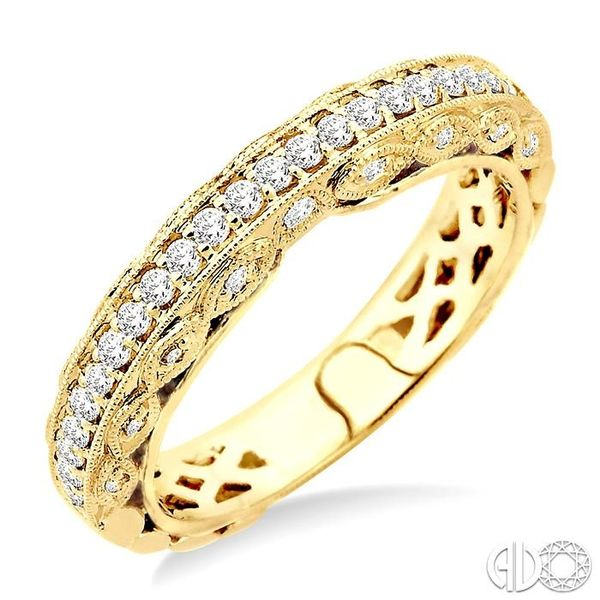3/8 Ctw Diamond Matching Wedding Band in 14K Yellow Gold Becker's Jewelers Burlington, IA