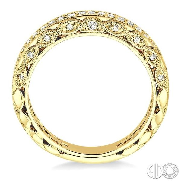 3/8 Ctw Diamond Matching Wedding Band in 14K Yellow Gold Image 3 Becker's Jewelers Burlington, IA