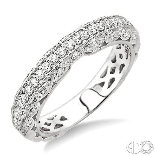 3/8 Ctw Diamond Matching Wedding Band in 14K White Gold Becker's Jewelers Burlington, IA