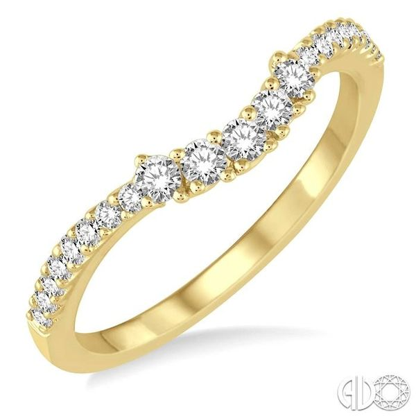1/3 Ctw Round Diamond Wedding Band in 14K Yellow Gold Becker's Jewelers Burlington, IA